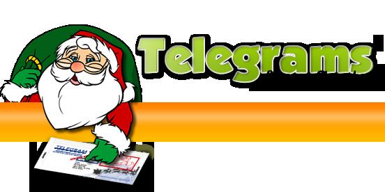 Telegrams from santa claus spiritdancerdesigns Choice Image