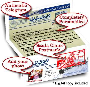 Telegrams from santa claus a letter truly from santa claus spiritdancerdesigns Choice Image